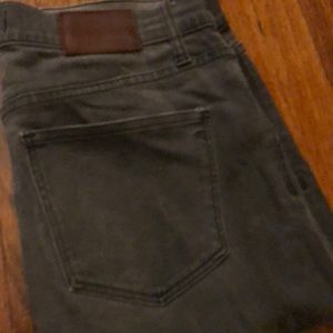 MADEWELL Skinny Skinny Grey jeans